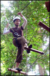 High Ropes Course - Indiana Budge