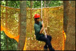 Low Ropes Course - Tarzan Swing