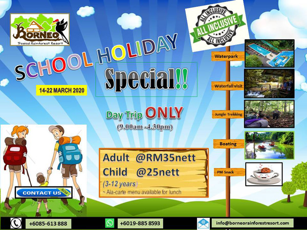 School Holiday Day Trip Special