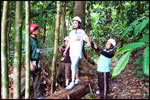 Low Ropes Course - Balance Beam