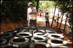 Obstacle Course - Tyre Run